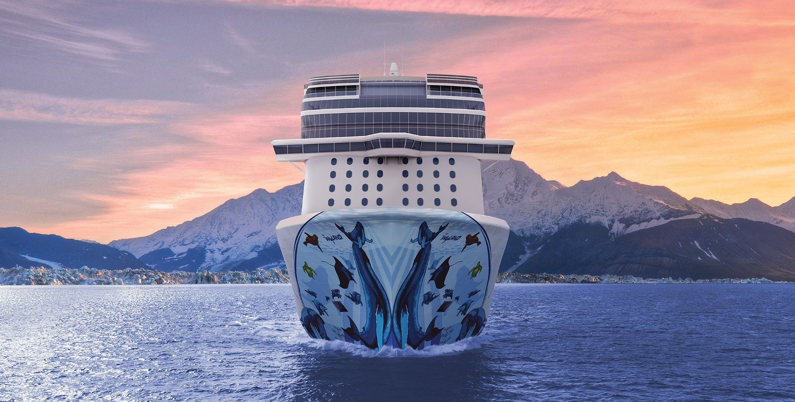 Cruise the world your way.